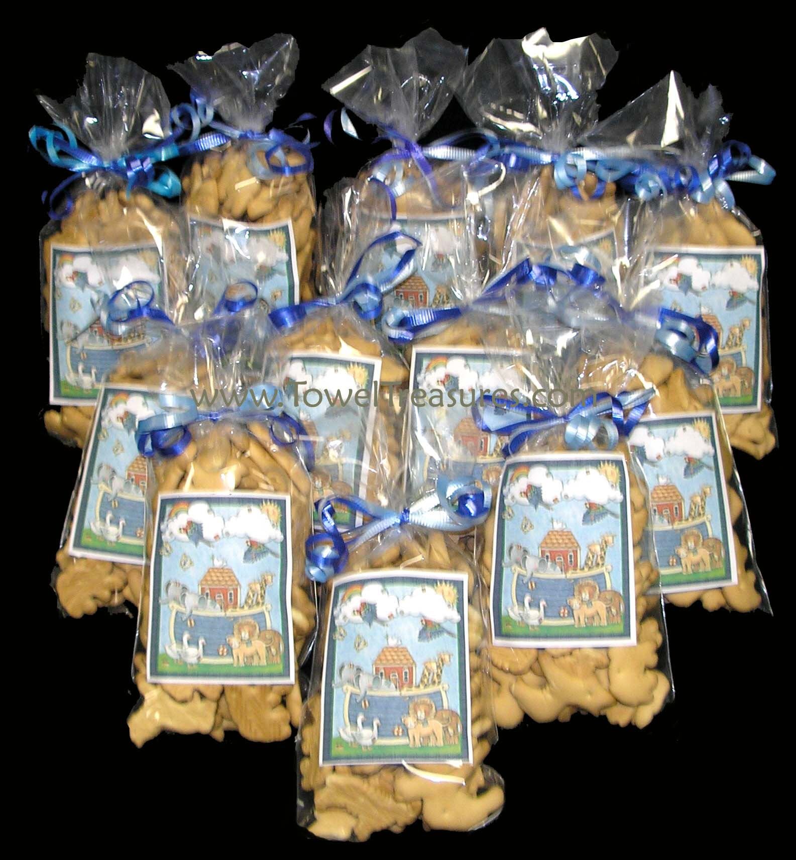 Baby Shower Favors With Animal Crackers ~ The smile for awhile company ideas tsfaci