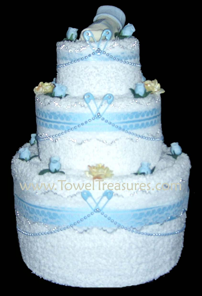 Baby Shower Cakes Baby Shower Towel Cake Ideas
