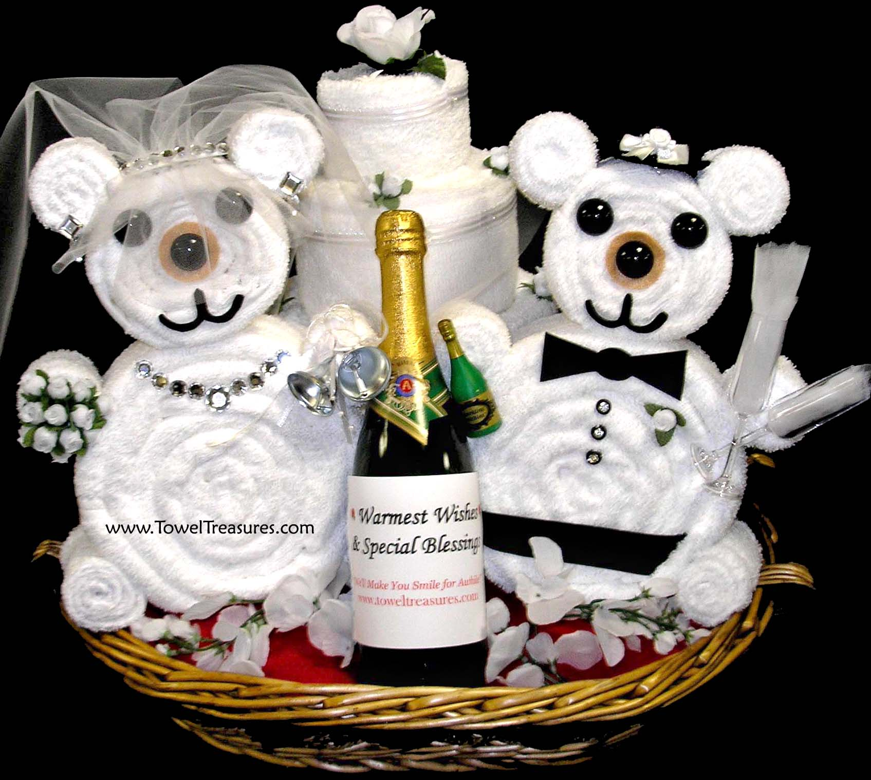 Bridal Shower Wine Gift Basket Ideas : The Smile For Awhile Company Ideas-TSFACI.com